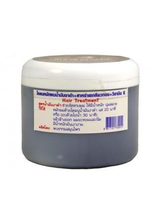 Маска для волос с кунжутом, черным рисом и витамином Е